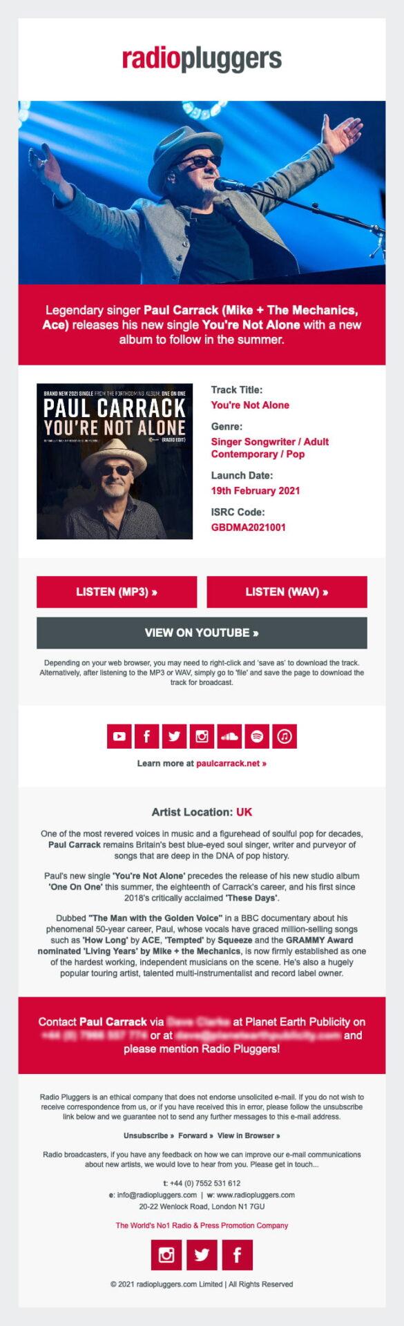 Sample Musicians Profile